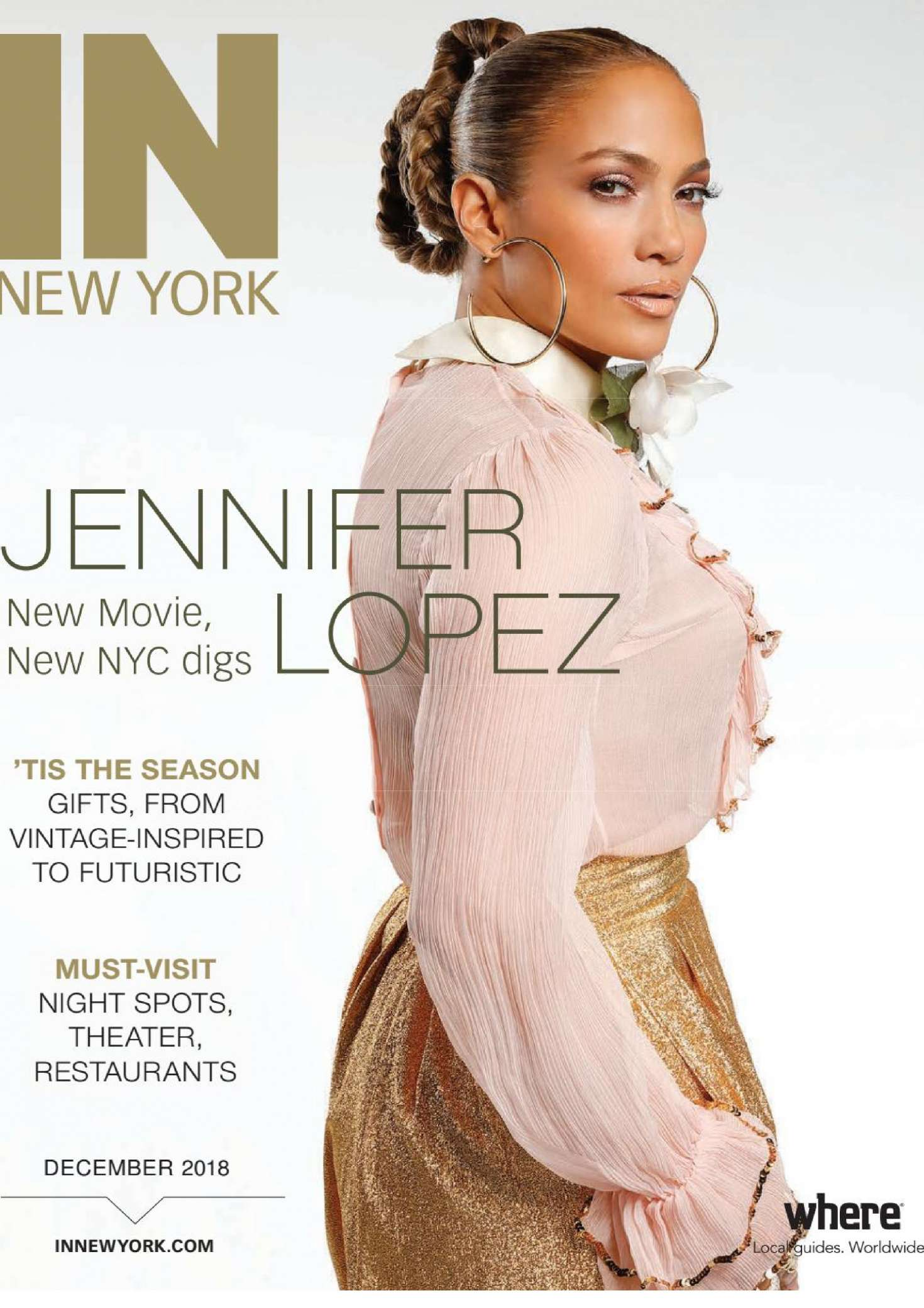 Jennifer Lopez – IN New York Magazine (December 2018)