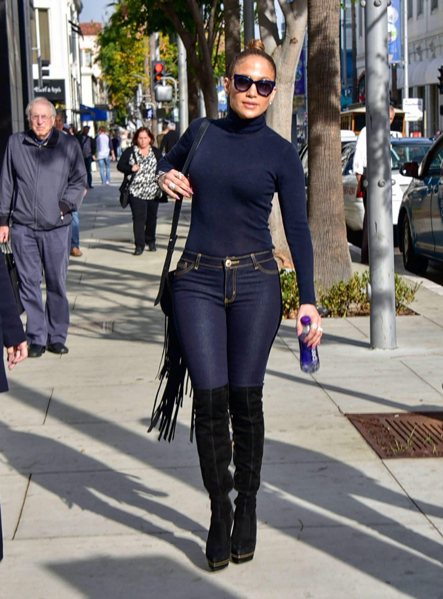 Jennifer Lopez Booty In Skinny Jeans 06 Gotceleb