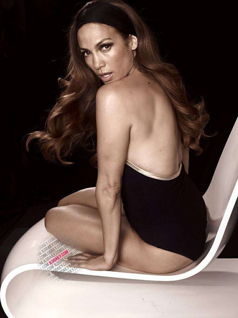 Jennifer Lopez in Swimsuit Untouched L'Oréal Paris Outtakes 2011
