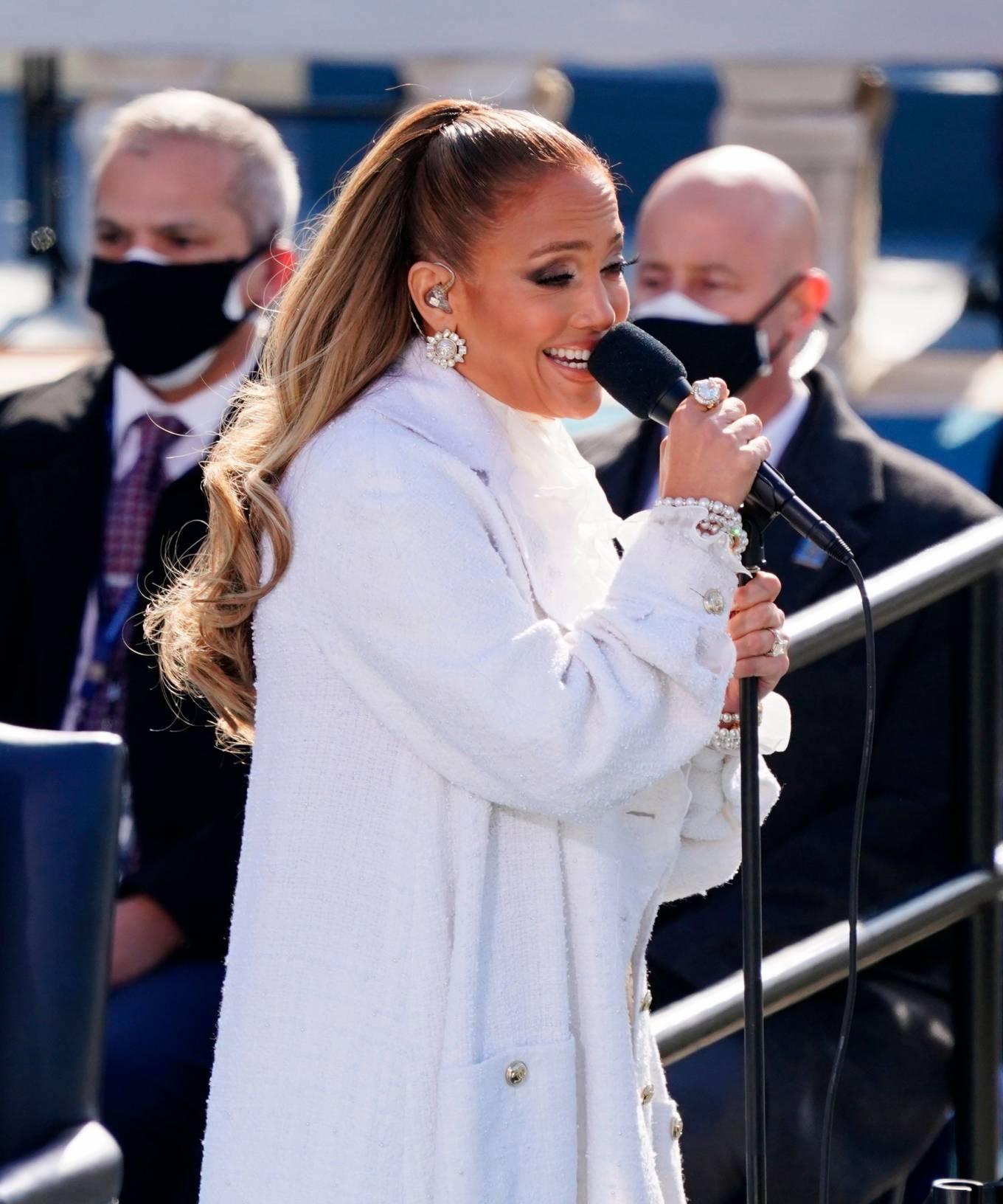 Jennifer Lopez - Inauguration of U.S. President-elect Joe Biden - Washington
