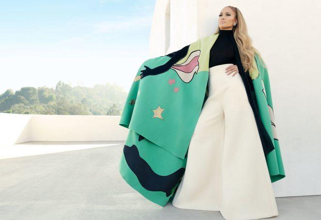Jennifer Lopez: InStyle Magazine 2018 -06