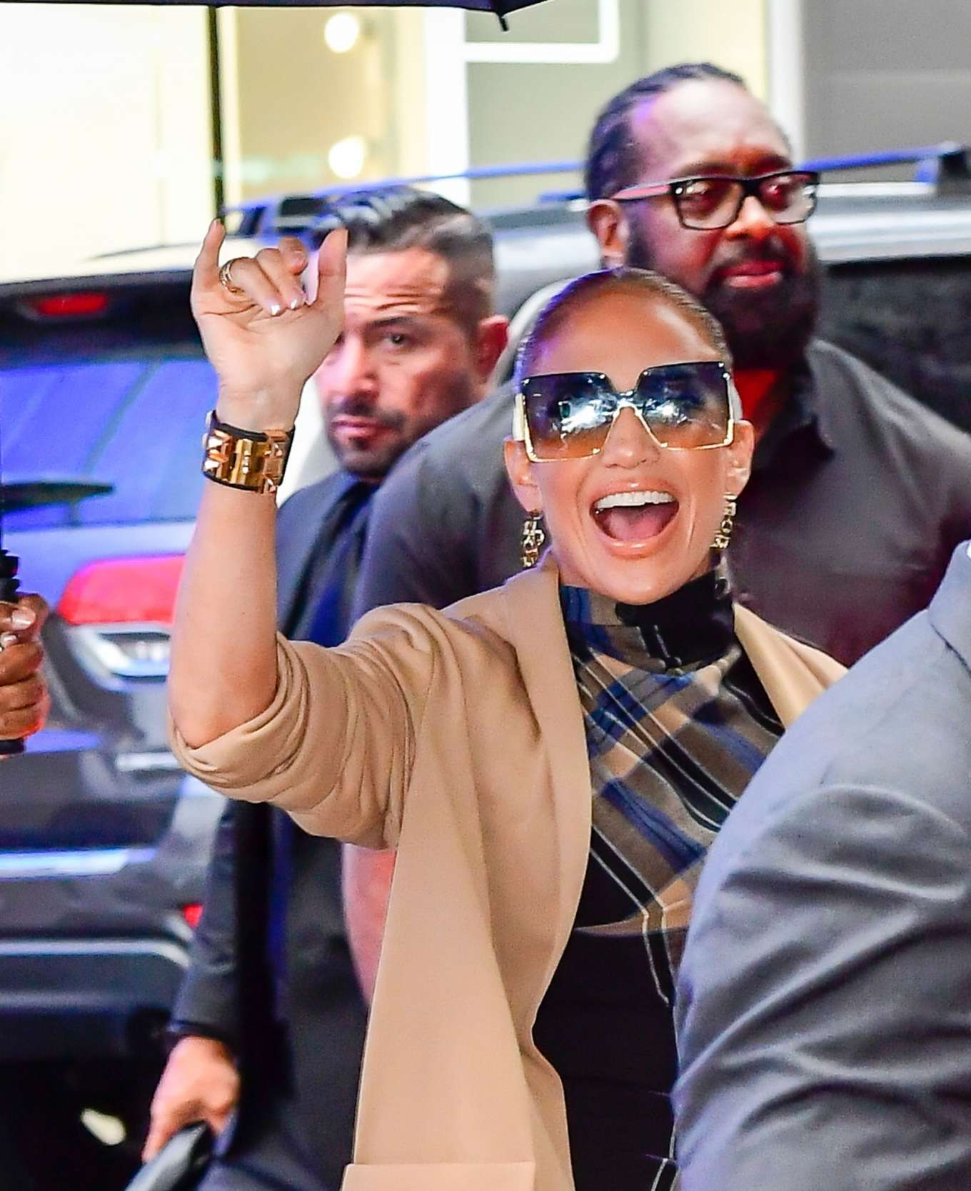 Jennifer Lopez 2019 : Jennifer Lopez is seen arriving at Good Morning America-11