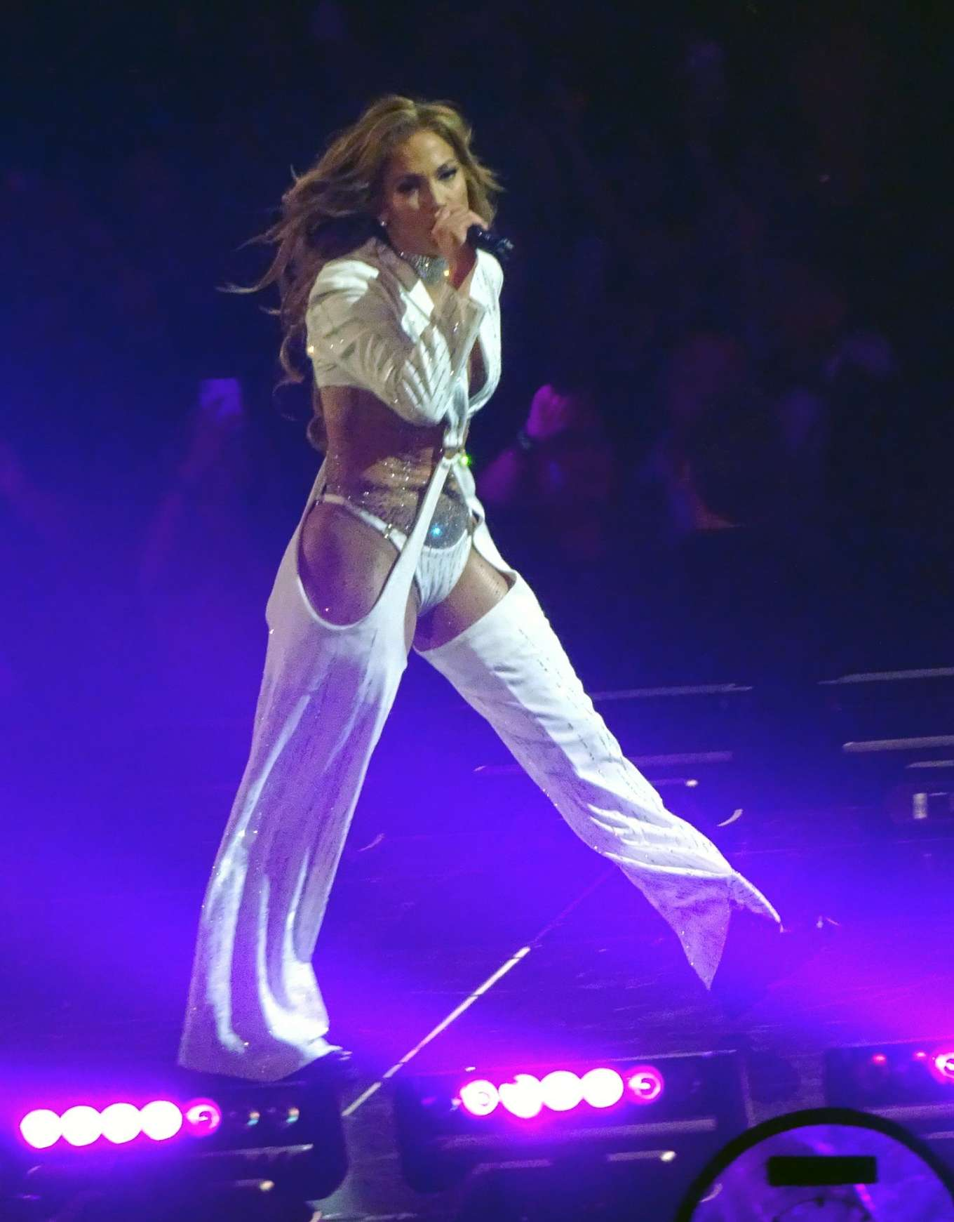 Jennifer Lopez - 'Its MY Party' opening night inside the Forum in Los Angeles