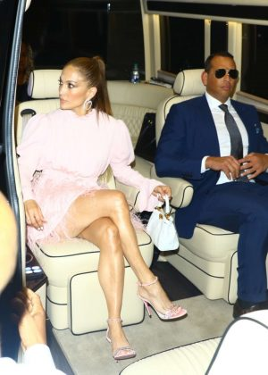 Jennifer Lopez - Leave NBC studios in New York City