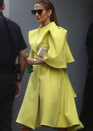 Jennifer Lopez - Leaves Despierta America in Miami