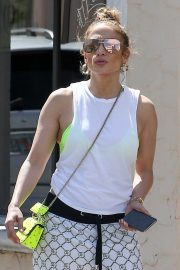 Jennifer Lopez - Leaves the gym in Miami