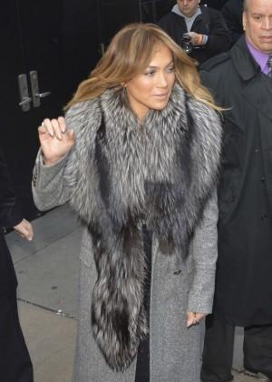 "Jennifer Lopez - Leaving ""Good Morning America"" in NYC"