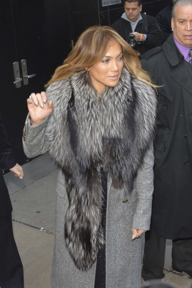 "Jennifer Lopez – Leaving ""Good Morning America"" in NYC"