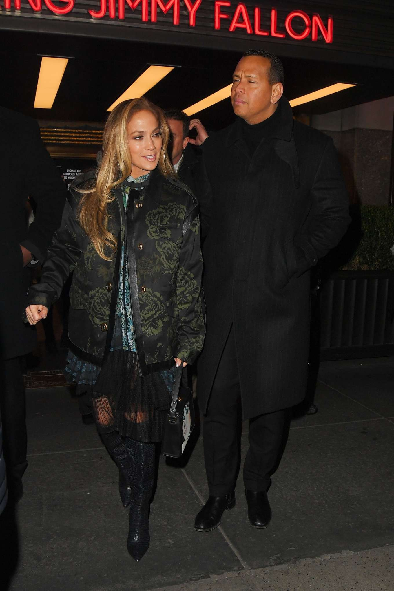 Jennifer Lopez 2019 : Jennifer Lopez – Leaving Saturday Night Live Rrehearsals-08