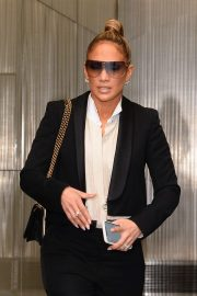 Jennifer Lopez - Leaving Sirius Radio in NYC