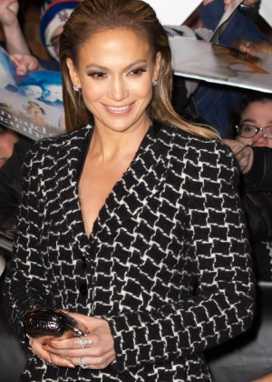 Jennifer Lopez - Leaving 'The Daily Show with Jon Stewart' in New York