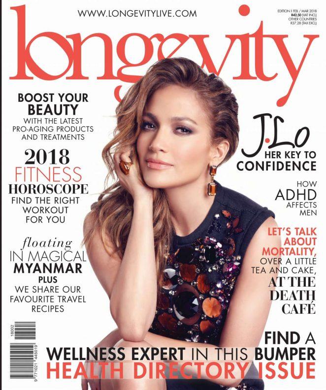 Jennifer Lopez – Longevity Magazine (February 2018)