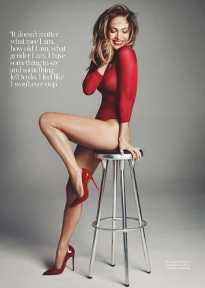 Jennifer Lopez - Marie Claire UK Magazine (December 2015)