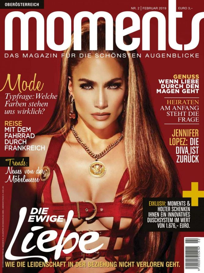 Jennifer Lopez – Moments Austria Magazine (January 2019)