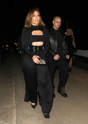 Jennifer Lopez Night out in Beverly Hills