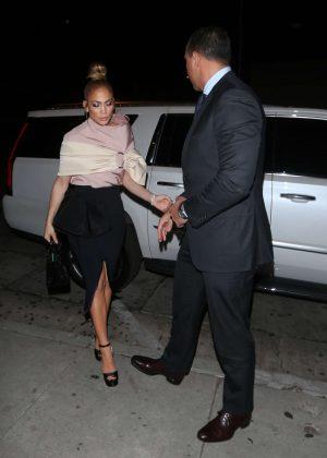 Jennifer Lopez - Night out in Los Angeles