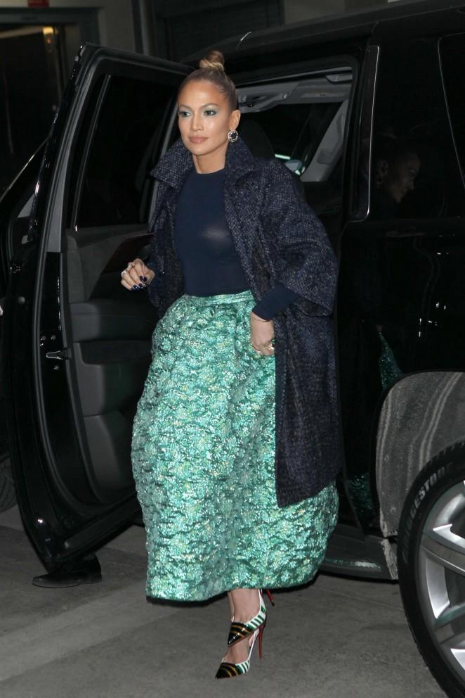 Jennifer Lopez Night Out in New York City