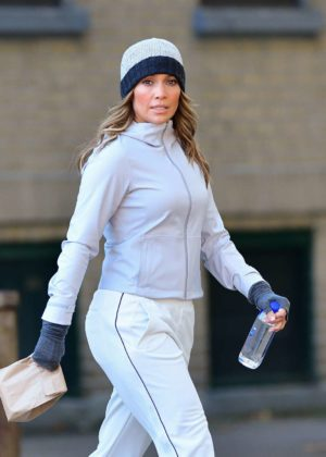 Jennifer Lopez on 'Second Act' set in Queens