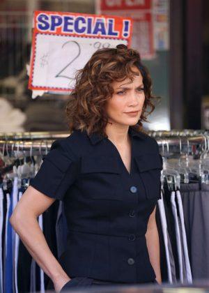 Jennifer Lopez on 'Shades of Blue' in New York City