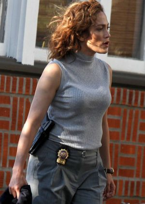 Jennifer Lopez On 'Shades Of Blue' set in New York