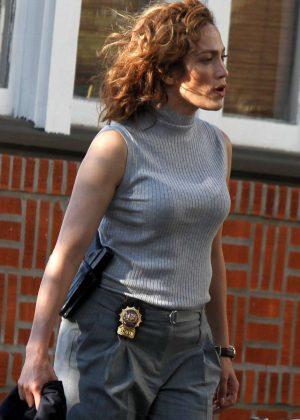 Jennifer Lopez On 'Shades Of Blue' set in New York
