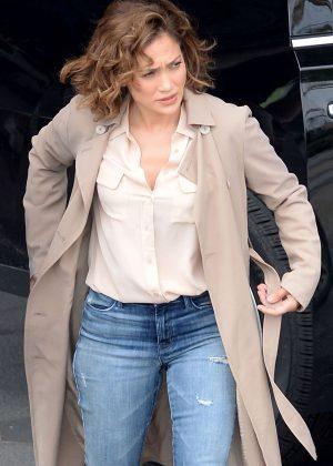 Jennifer Lopez on 'Shades of Blue' set in NY