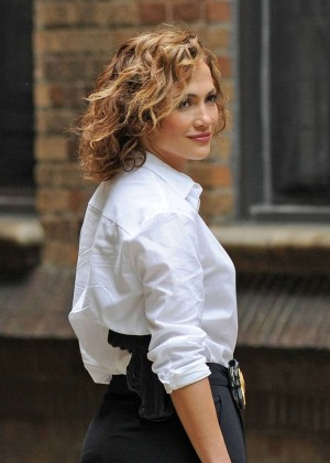 Jennifer Lopez on 'Shades of Blue' set in NYC