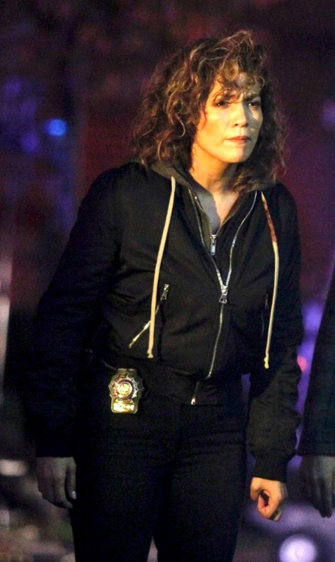 Jennifer Lopez on 'Shades of Blue' Set in Queens