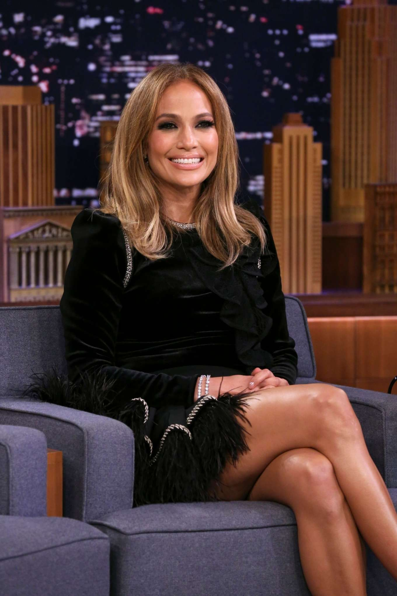 Jennifer Lopez - On 'The Late Show with Jimmy Fallon' in NYC