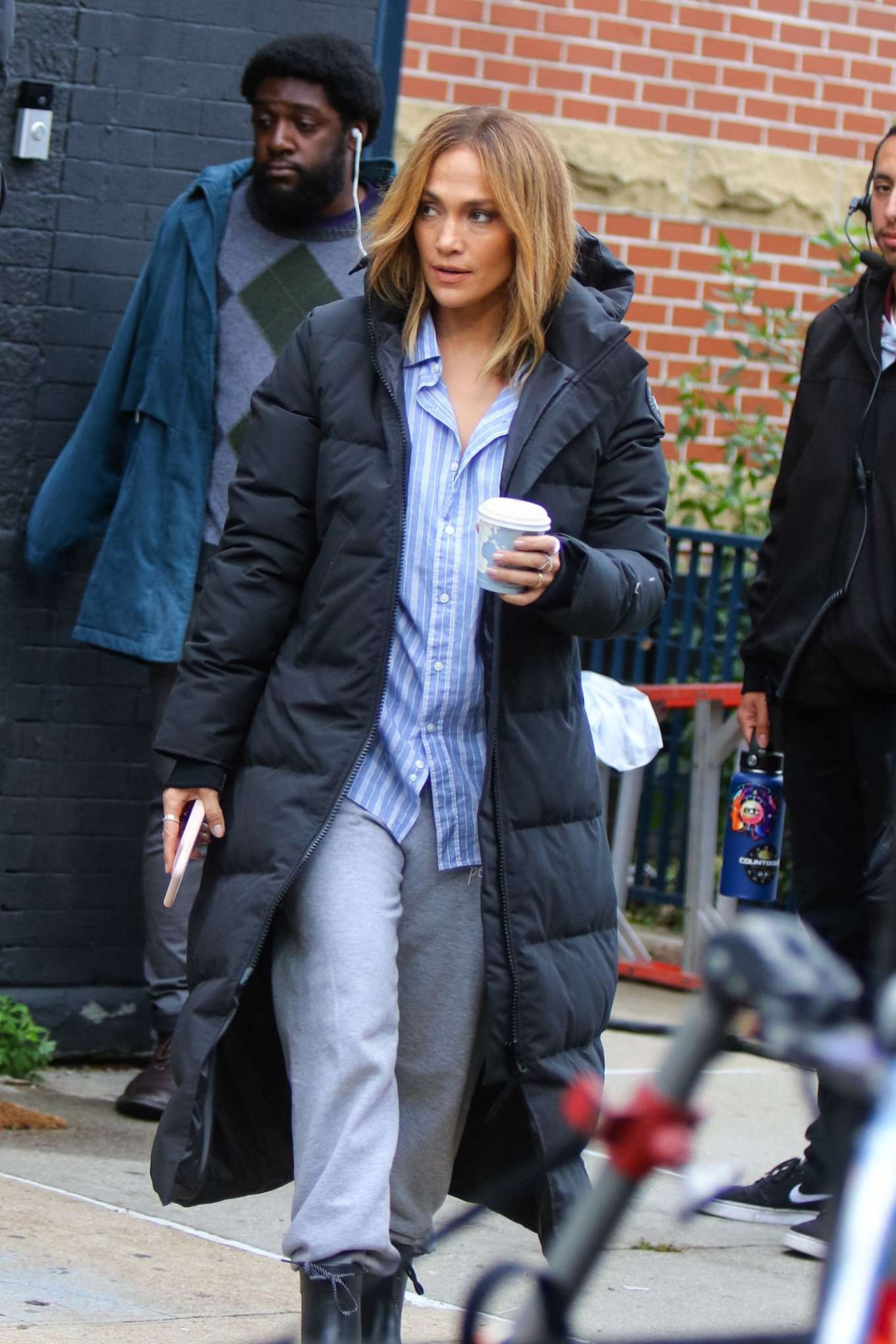 Jennifer Lopez - On the set of 'Marry Me' in NYC