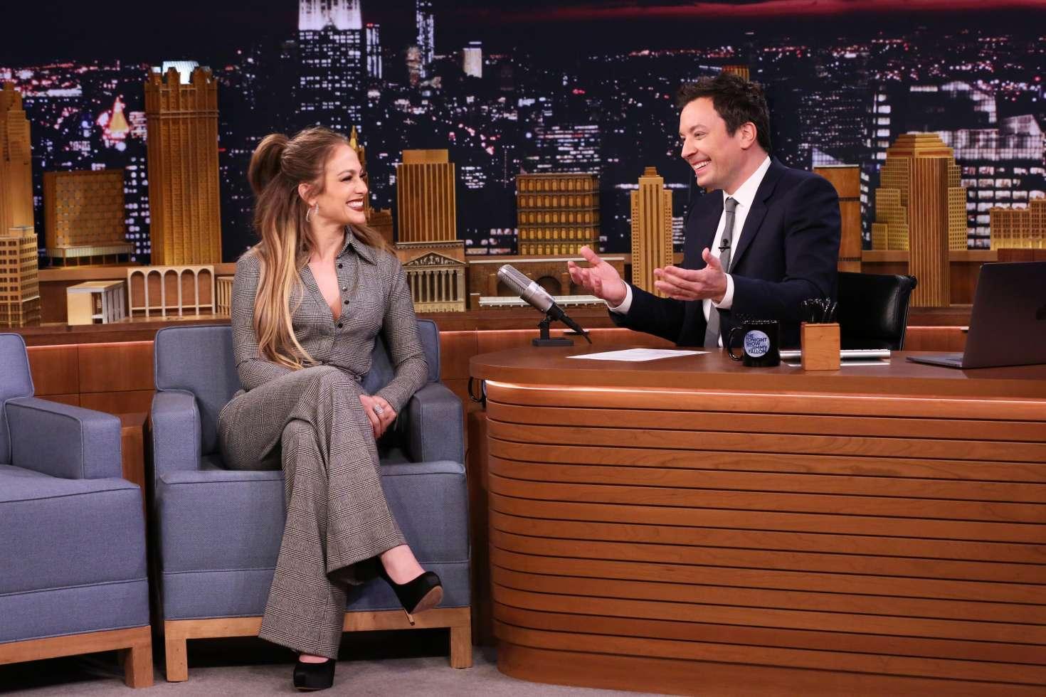 Jennifer Lopez 2017 : Jennifer Lopez on The Tonight Show Starring Jimmy Fallon -12