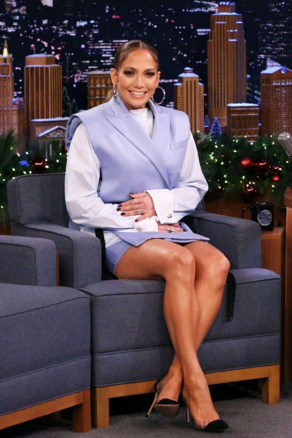 Jennifer Lopez - On 'The Tonight Show Starring Jimmy Fallon' in NYC