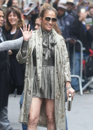 Jennifer Lopez on 'The View' in New York City