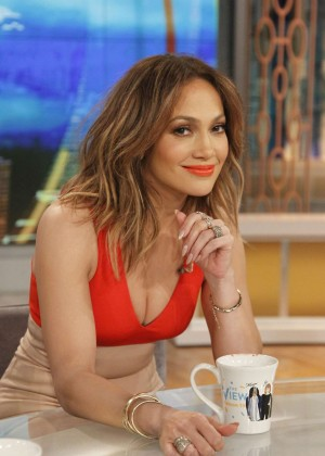 Jennifer Lopez - On 'The View' in NYC