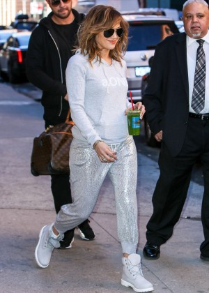 Jennifer Lopez - out and about in New York