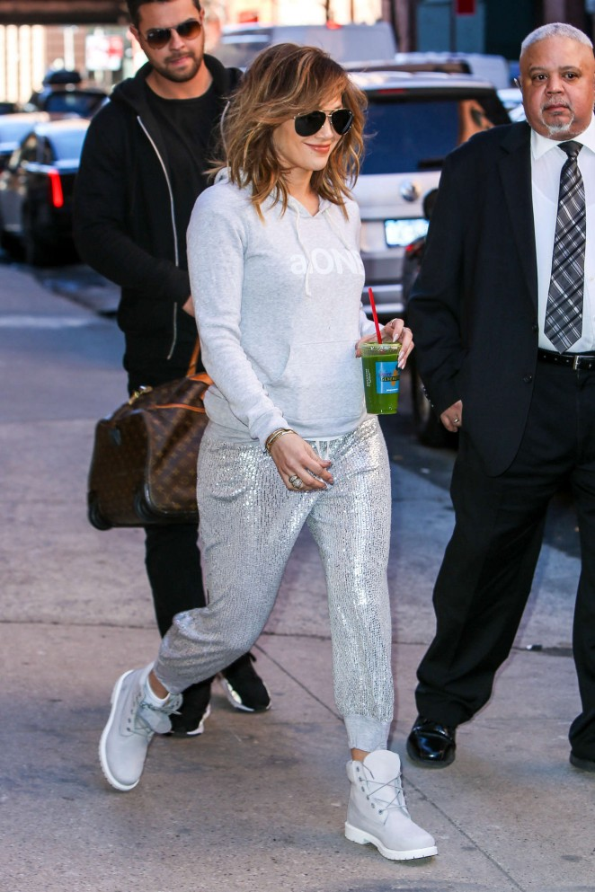 Jennifer Lopez – out and about in New York