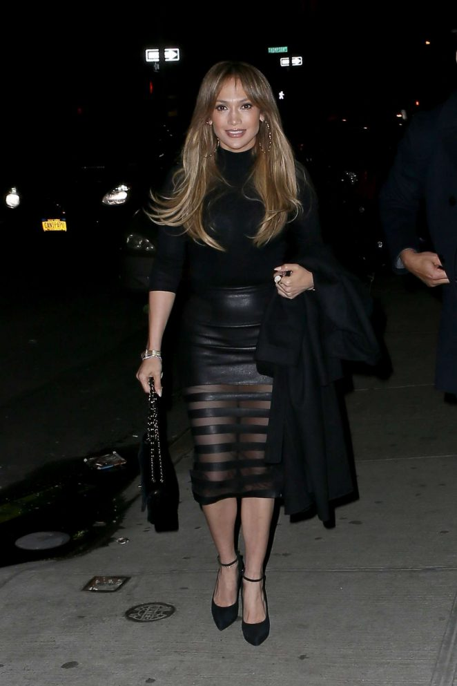 Jennifer Lopez out for Dinner at Il Mulino in New York City