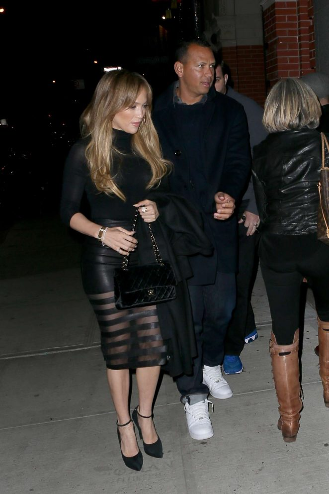 Jennifer Lopez out for Dinner at Il Mulino -19