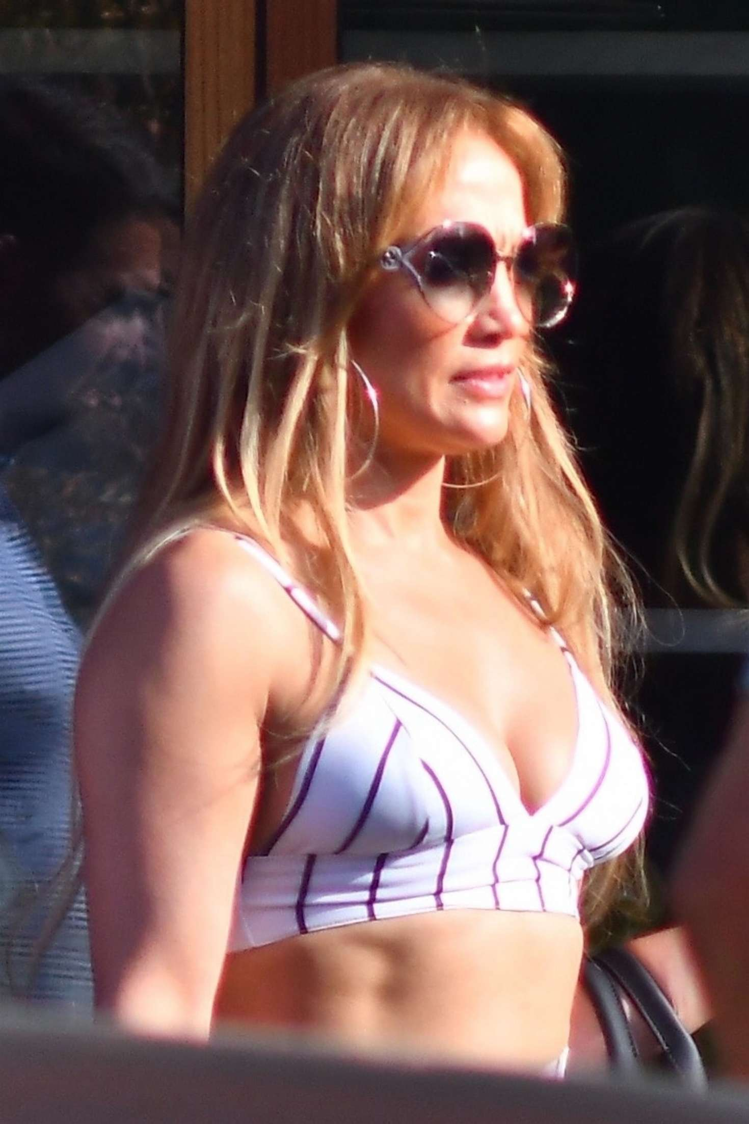 Jennifer Lopez out for lunch at Nobu in Malibu