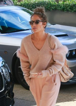 Jennifer Lopez - Out in Beverly Hills