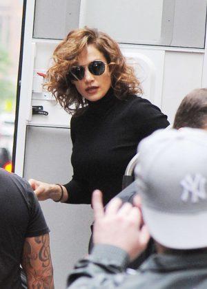 Jennifer Lopez out in Manhattan