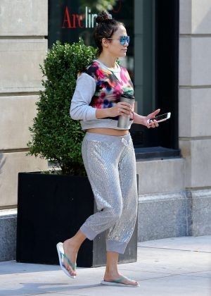 Jennifer Lopez out in New York City