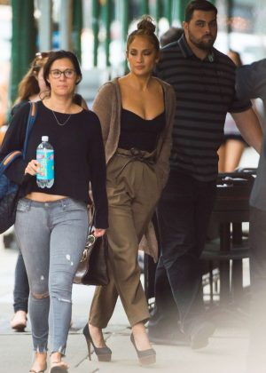 Jennifer Lopez - Out in New York City