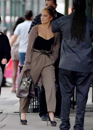 Jennifer Lopez - Out in New York City