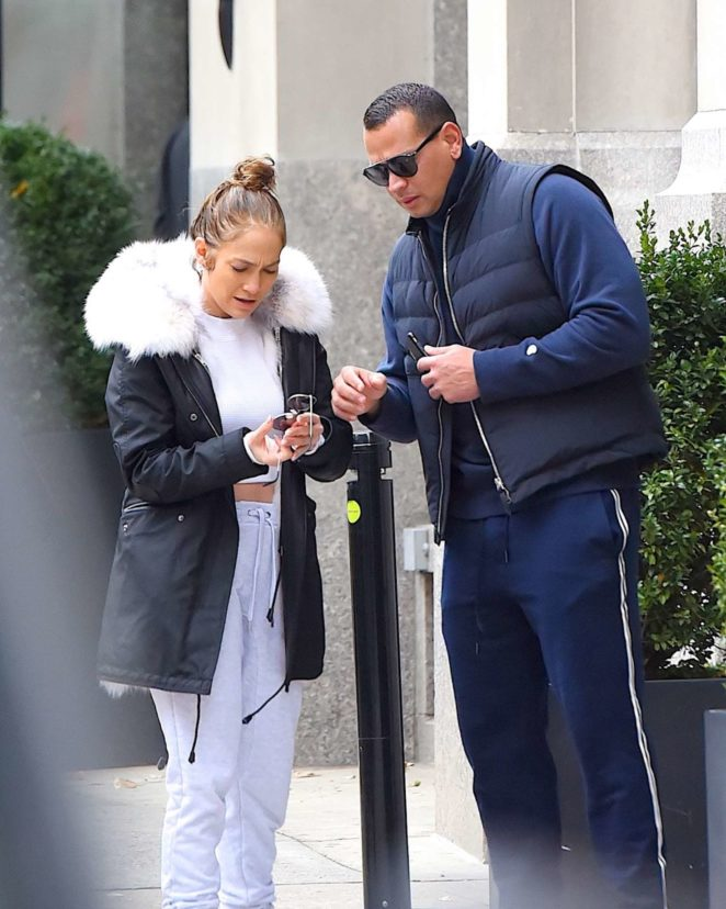 Jennifer Lopez: Out in New York City -16