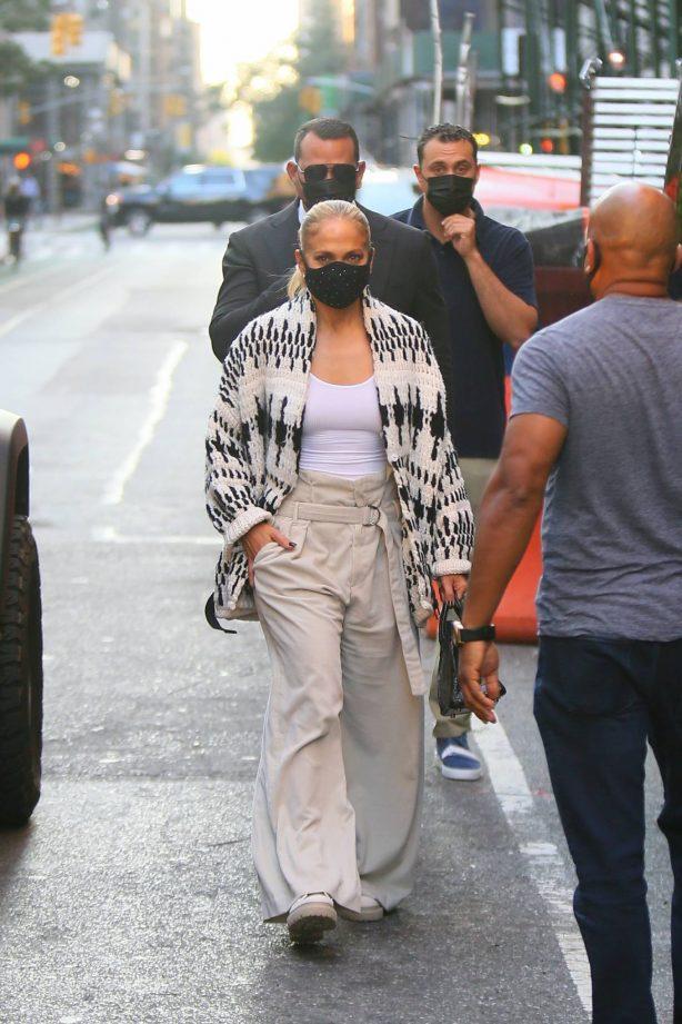 Jennifer Lopez - Out in Tribeca