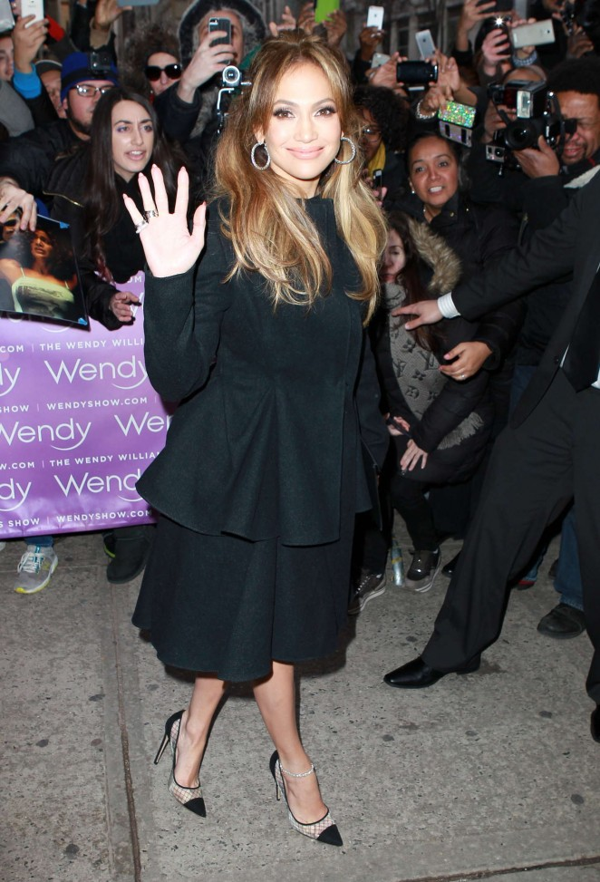 Jennifer Lopez - Outside at the Wendy Williams Show in New York