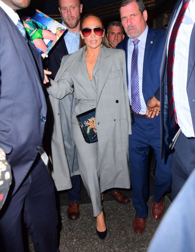 Jennifer Lopez – Outside NBC in New York City