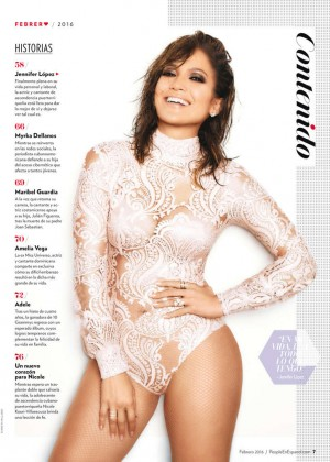 Jennifer Lopez- People En Espanol Magazine (February 2016)