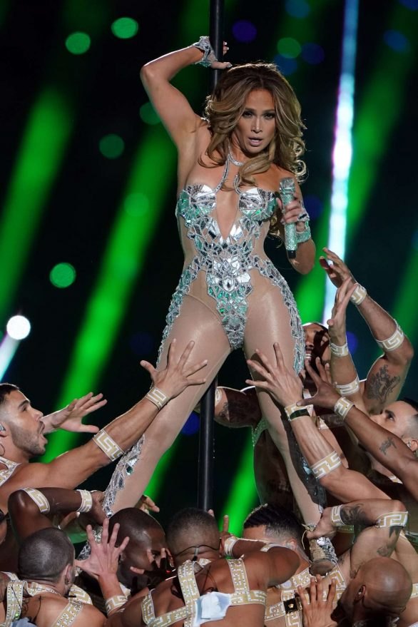 Jennifer Lopez - Performs during the Super Bowl LIV Halftime Show 2020 in Miami